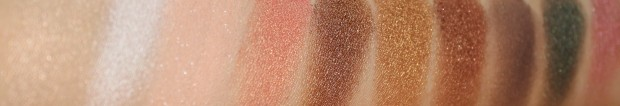 Inglot eyeshadow swatches first 10