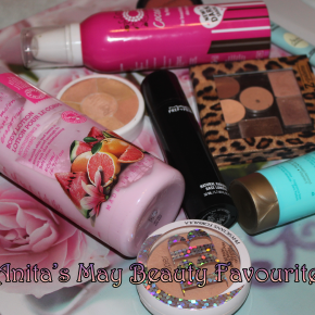 Anita's May Beauty Favourites