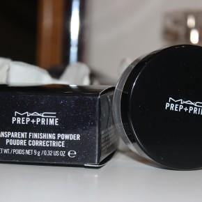 REVIEW:MAC Prep+Prime Transparent Finishing Powder