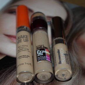 "Anita's Picks: Top Three ""Drugstore"" Concealers"
