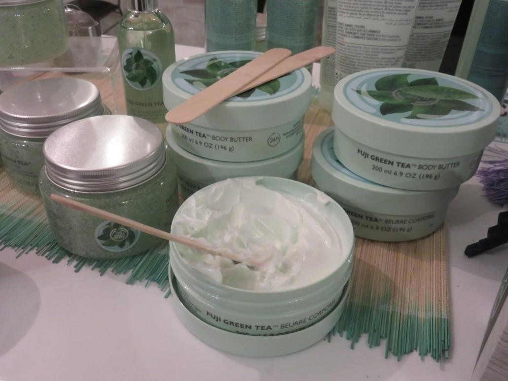 Body shop green body cream