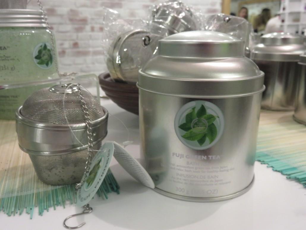 Body shop green tea bath salts