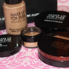 Makeup Forever and Mac Haul