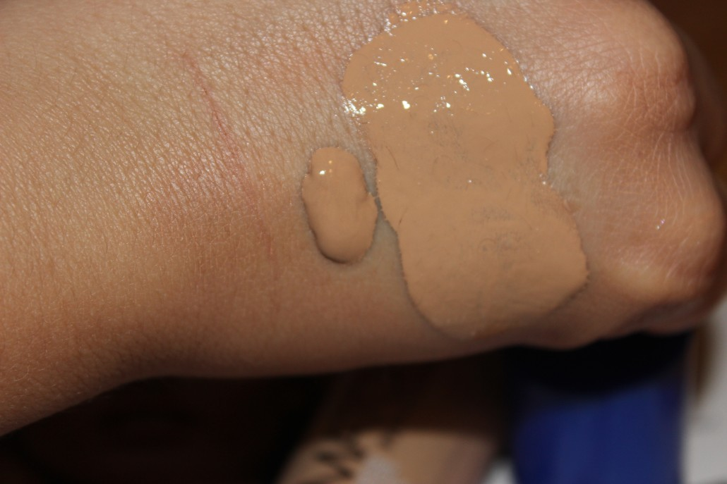 Rimmel foundation match perfection swatch