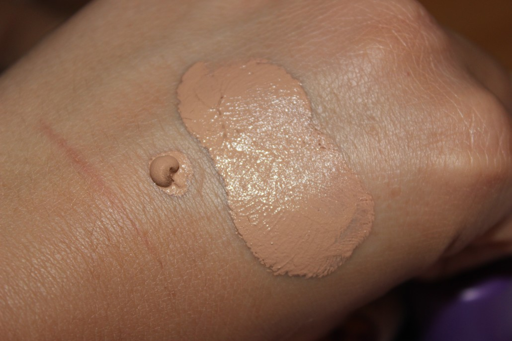 Rimmel foundation stay matte swatch