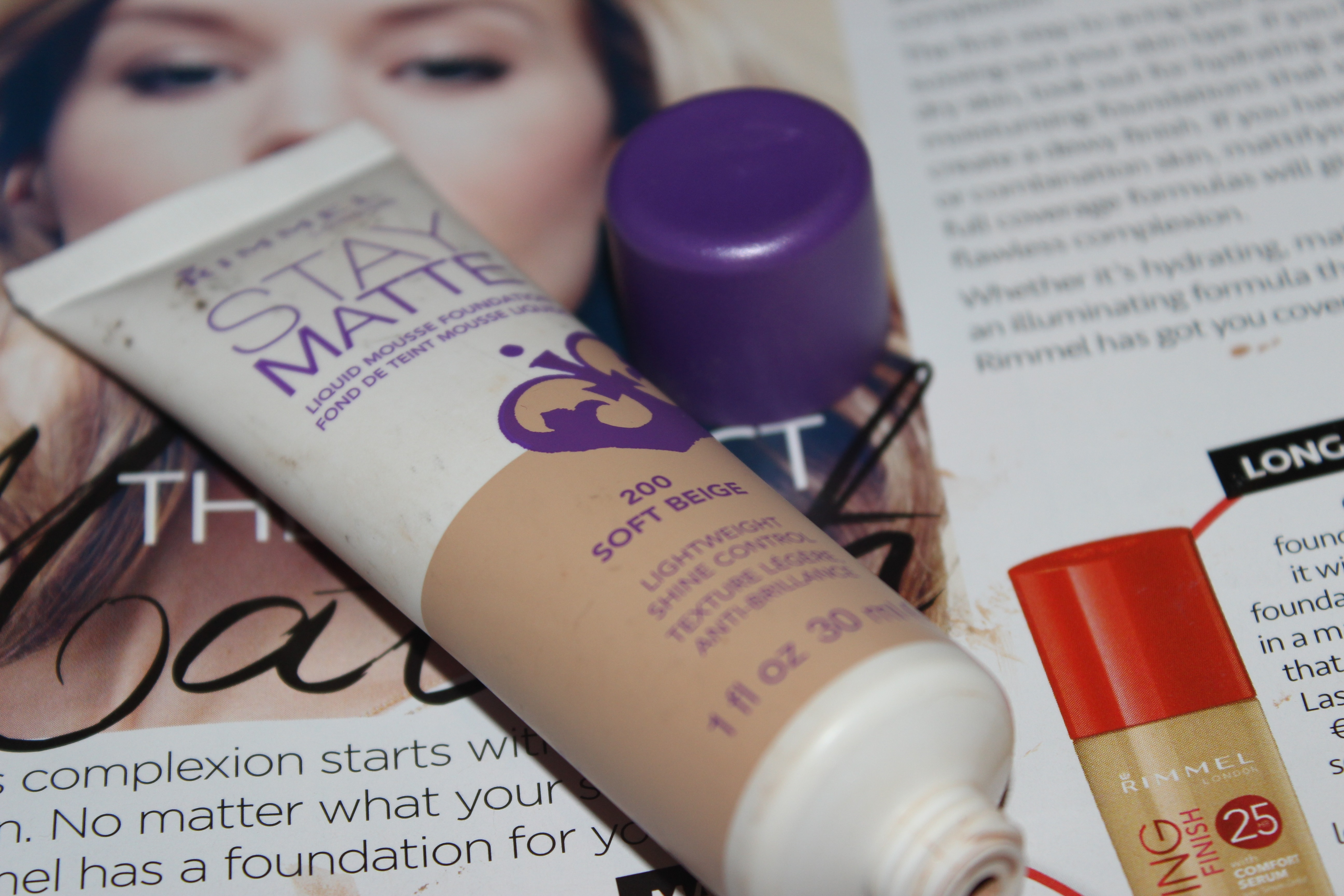 Rimmel Foundations The Lowdown Irish Nail And Beauty Blog Stay Matte Foundation