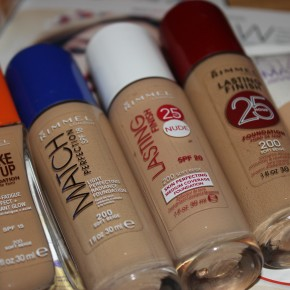 Rimmel Foundations: The Lowdown