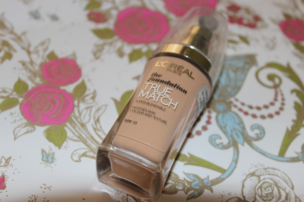 Loreal True Match foundation review 1