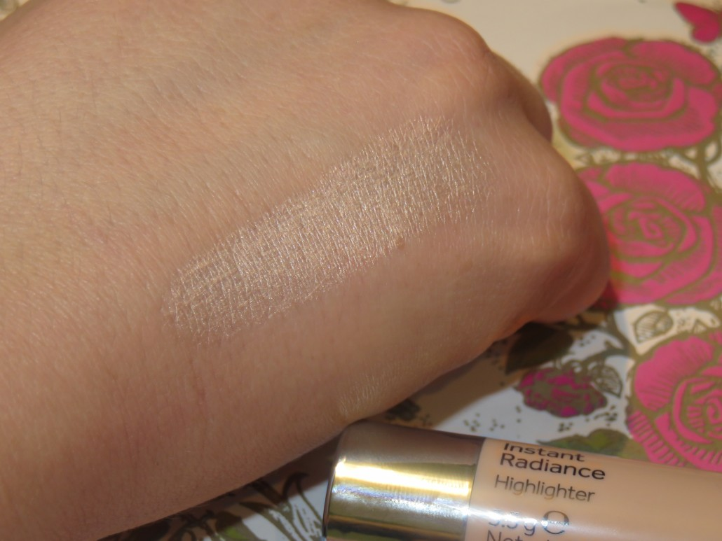 haul 1604 no7 instant radiance swatch