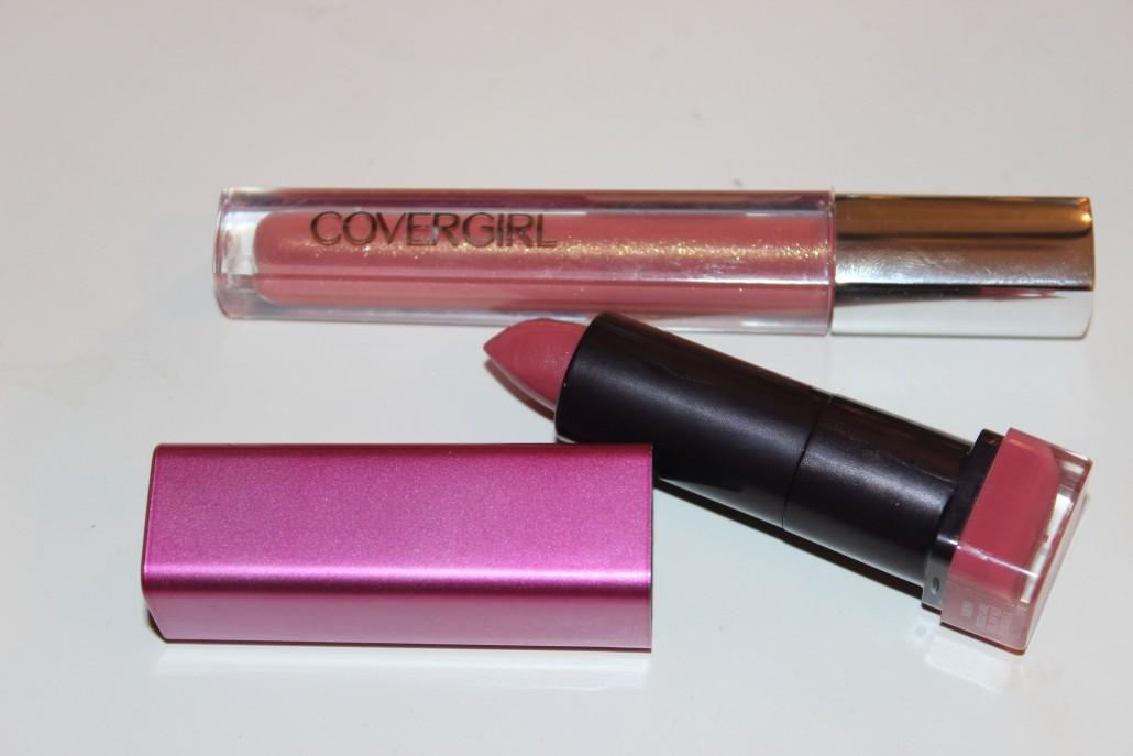 Florida Haul Covergirl gloss and lipstick