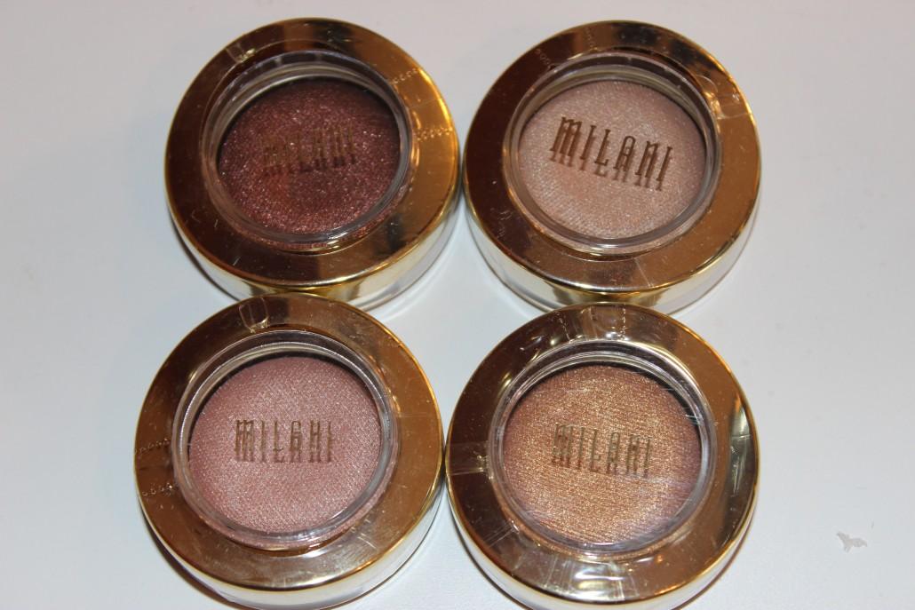 Florida Haul Milani Baked Eyeshadows