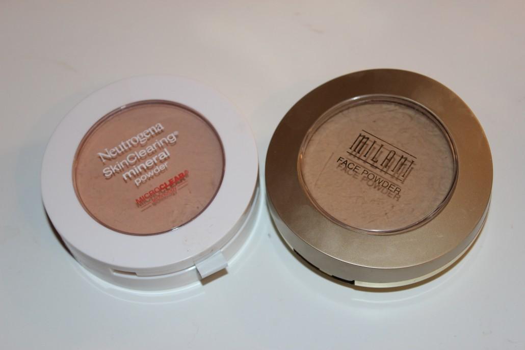 Florida Haul Neutrogena SkinClearing Powder and Milani Face Powder