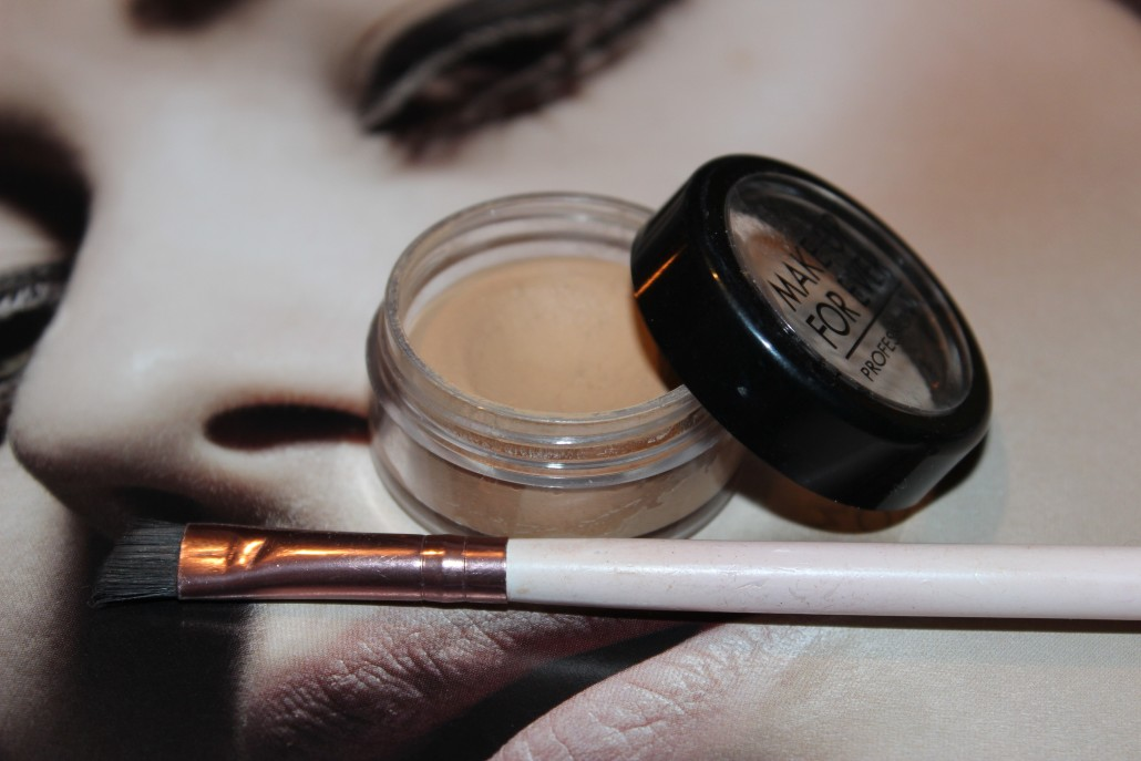 Brows Makeup Forever Concealer and Nima brush