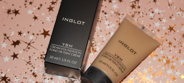 Review: Inglot YSM Cream Foundation