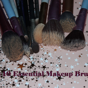 Top Ten Essential Makeup Brushes!