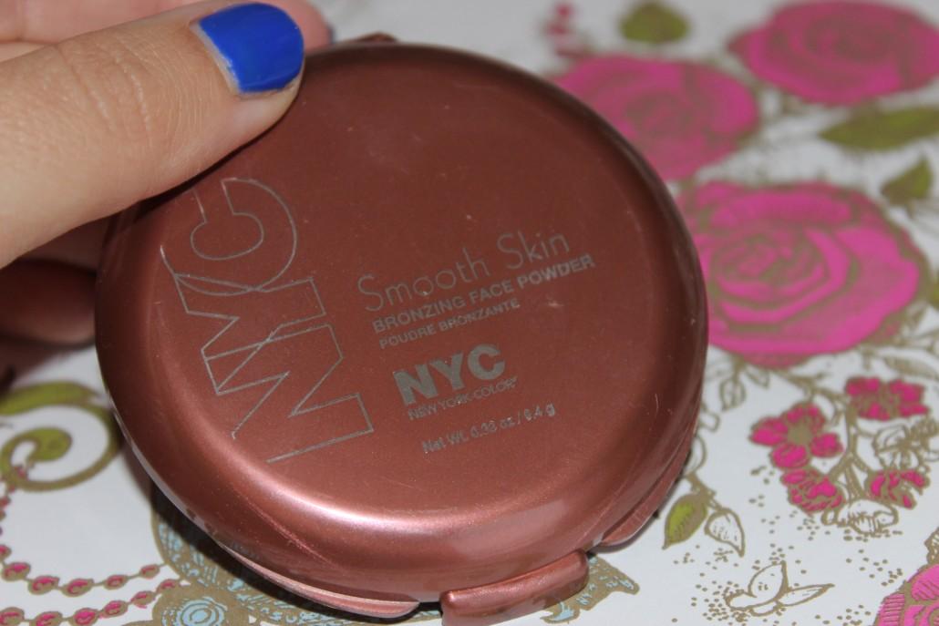 July 2015 Favourites NYC Smooth Skin Bronzing Face Powder Sunny