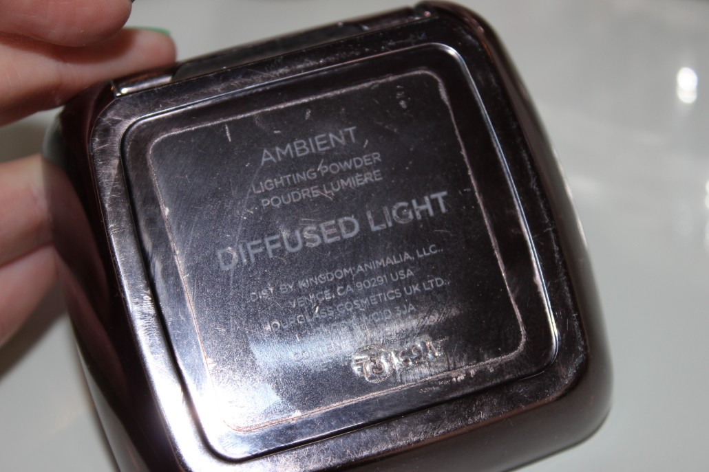 Oct 15 Favourites Hourglass ambient lighting powder diffused light back