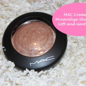 REVIEW: Mac Soft and Gentle Mineralize Skinfinish